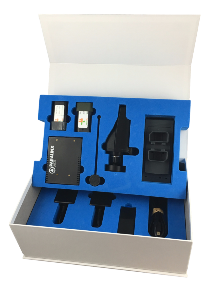 View 2 Blue Rigid Setup Box from PAX Solutions