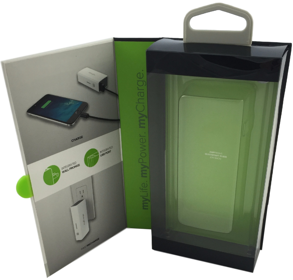 Open View Portable Charger Rigid Setup Box from PAX Solutions