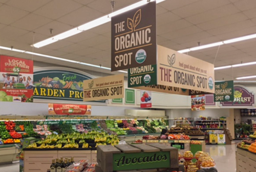 Retail Display Grocery