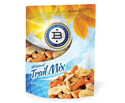 Flexible Packaging Trail Mix Film Pouch from PAX Solutions